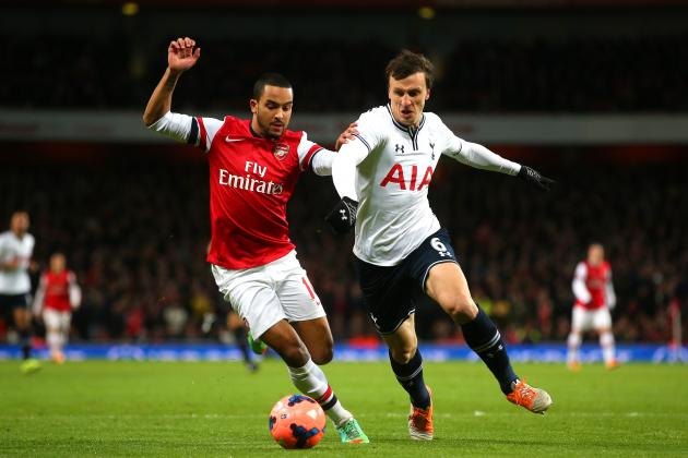Picking a Combined Tottenham Hotspur-Arsenal XI