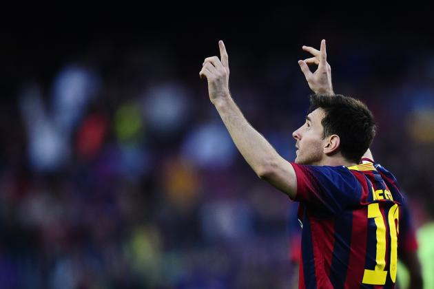 Messi's New Record and the Top 5 Players from Around the World This Weekend