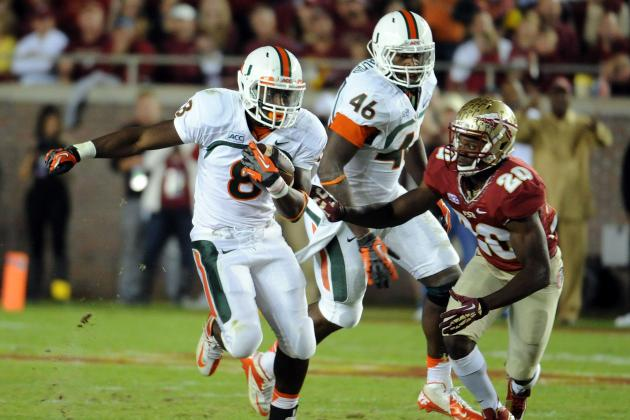 Miami Football: Ranking the Hardest Games of the 2014 Schedule