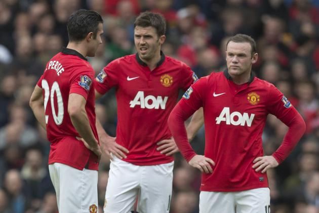 6 Things We Learned from Premier League Week 30: RIP for RVP at United
