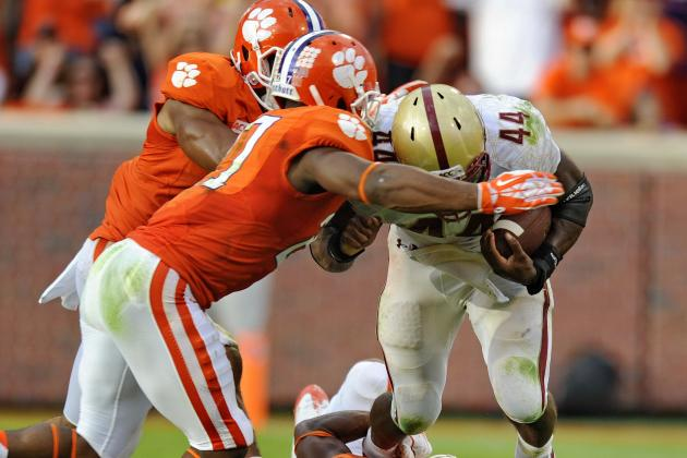 Clemson Football: Ranking the Hardest Games of the 2014 Schedule