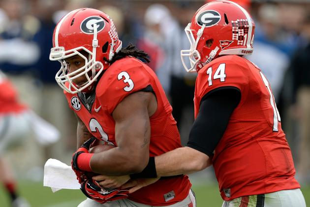 Georgia Football: Ranking the 6  Hardest Games on the 2014 Schedule