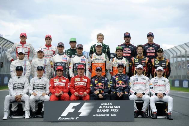 Power Ranking the F1 Teams After 2014 Australian Grand Prix