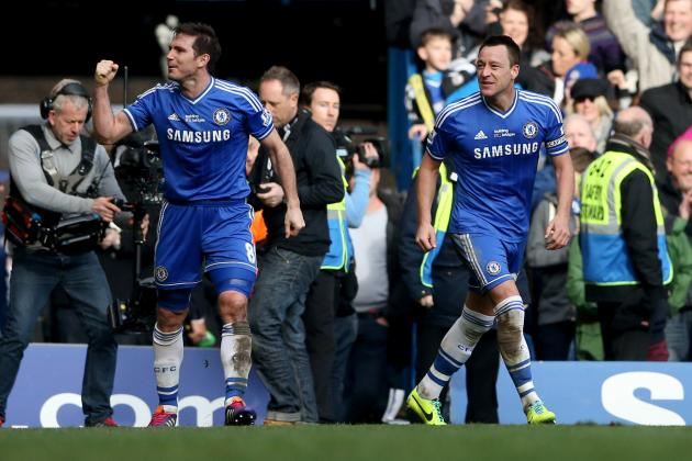 B/R Gossip Roundup: Frank Lampard Out, John Terry in at Chelsea