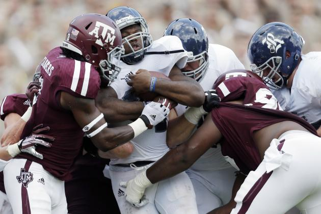 Texas A&M Football: Will Spring Issues Limit Defensive Improvements in 2014 ?