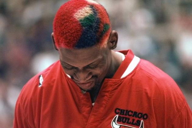 Swagged-Out Athletes of the '90s