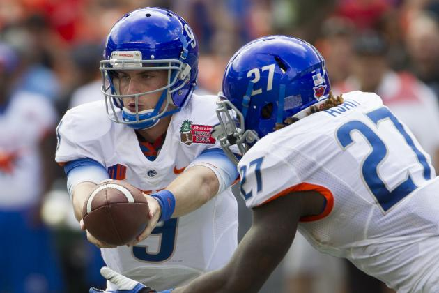 Boise State Football: Ranking the Hardest Games on the Broncos' 2014 Schedule