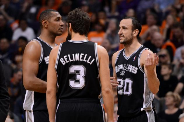 Power Ranking Every Key San Antonio Spurs Player Before Season's End