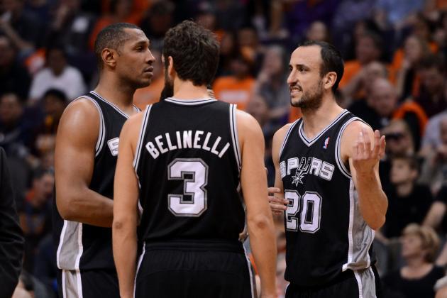 Power Ranking Every Key San Antonio Spurs Player Before Season's End