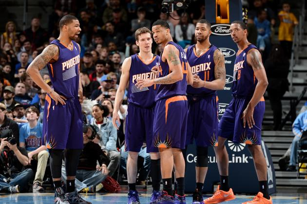 Power Ranking Every Key Phoenix Suns Player Before Season's End
