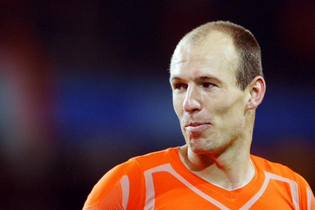 Arjen Robben and the 20 Greatest Dutch Footballers in the Last 20 Years
