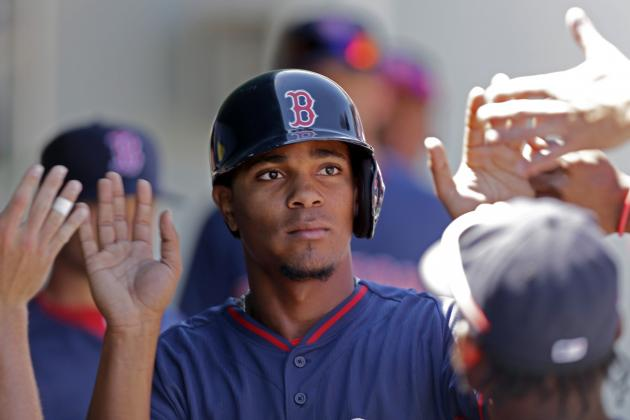 Grading the Performance of Boston Red Sox's Top Prospects at Spring Training
