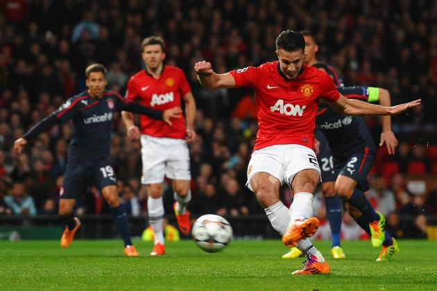 Winners and Losers from Champions League Last-16 2nd Leg: RVP Nets Hat-Trick