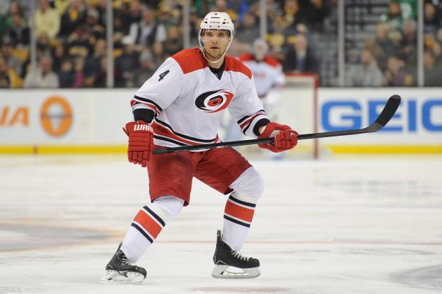 Grading Each Carolina Hurricanes Defenseman in the 2013-14 NHL Season so Far