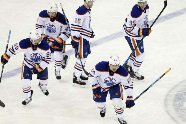 Pass-Fail Grades for Edmonton Oilers' Top Stars as 2013-14 Season Winds Down