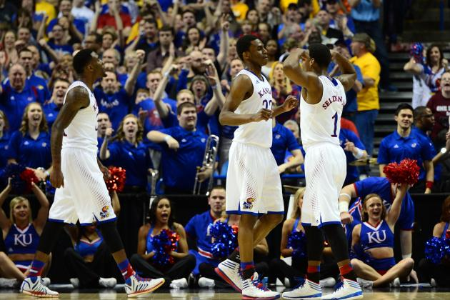 NCAA Tournament 2014: 5 Things We Learned from Kansas' Win over Eastern Kentucky