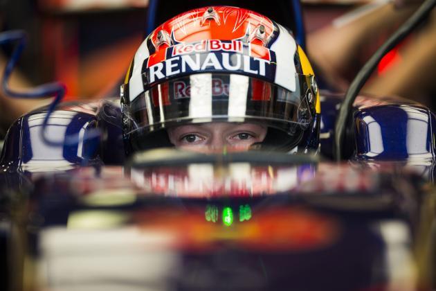 Daniil Kvyat and the Top Formula 1 Teenagers