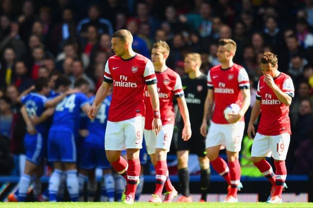 Chelsea vs. Arsenal: 6 Things We Learned from the Gunners' Embarrassing Defeat