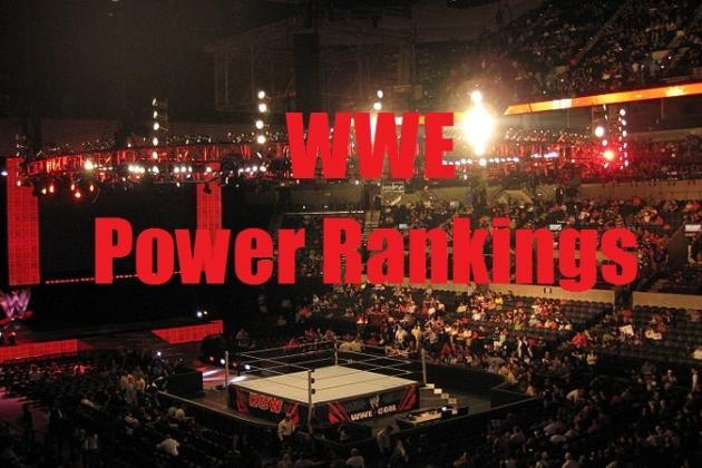 WWE Power Rankings for 3/24/2014