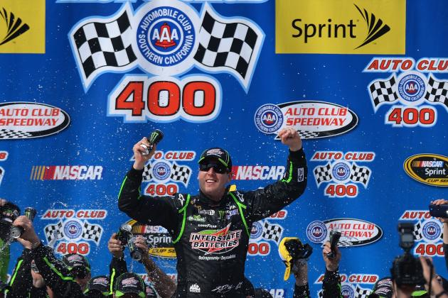 NASCAR at Fontana 2014: Winners and Losers from Auto Club 400