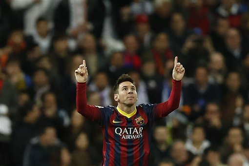 Neymar, Messi, Bale and Ronaldo Watch: Record-Breaking Leo Steals the Show