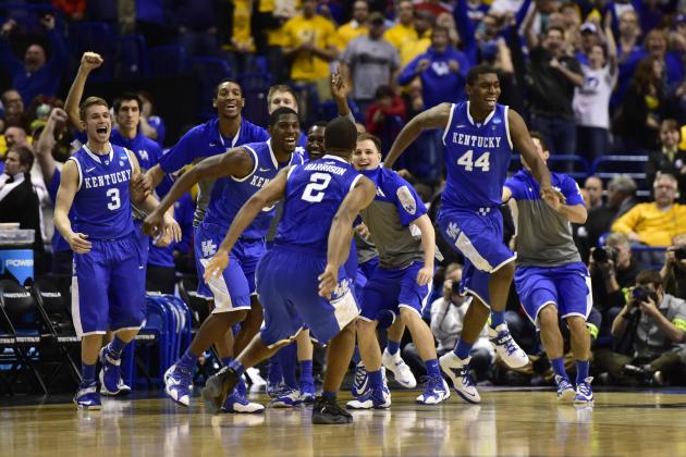 NCAA Bracket 2014: Odds for Every Sweet 16 Team to Win NCAA Championship