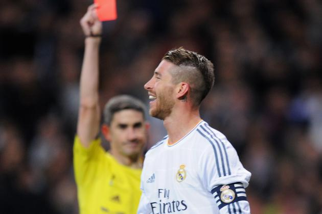 Sergio Ramos and 20 El Clasico Dismissals and Referee Controversies