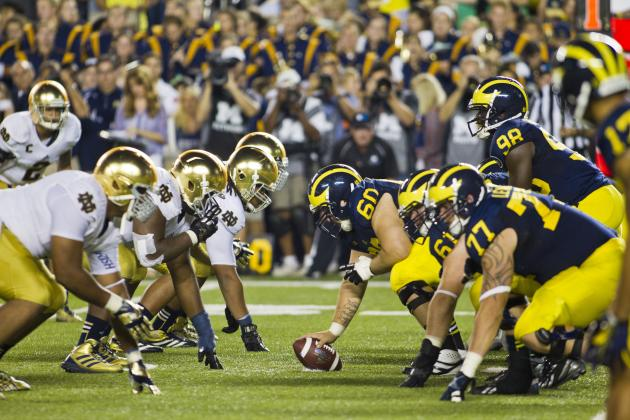 Big Ten Football: Power-Ranking the Top 2014 Out-of-Conference Games