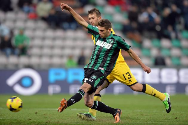 4 Things Domenico Berardi Can Learn from Arturo Vidal