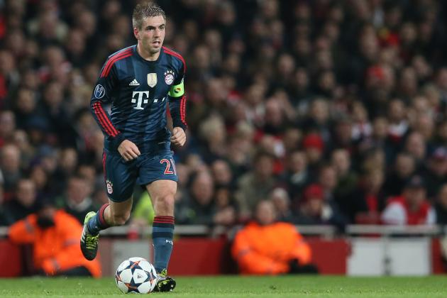 Where Philipp Lahm Ranks Alongside Bayern Munich's 20 Greatest Players