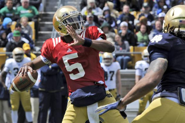 Notre Dame Football: 5 Observations from Spring Practice in South Bend