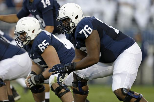 Penn State Football: 5 Offensive Linemen Who Will Make or Break 2014 Season