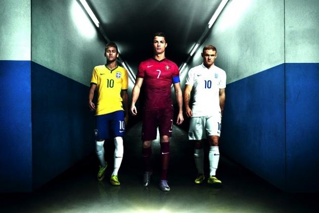 Power Ranking All 32 FIFA 2014 World Cup Home Kits