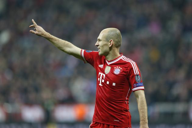 Ranking Arjen Robben's Top 10 Bayern Munich Moments