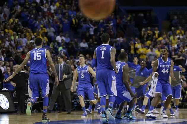 Kentucky Basketball: Highs and Lows of Wildcats' 2014 NCAA Tournament