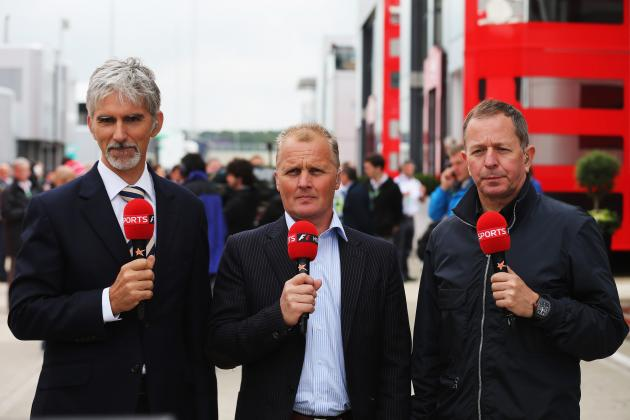 Formula 1 on BBC or Sky? Head-to-Head Ranking the Commentators and Experts