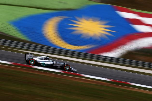 Malaysian Formula 1 Grand Prix 2014: Results, Times for Practice and Qualifying
