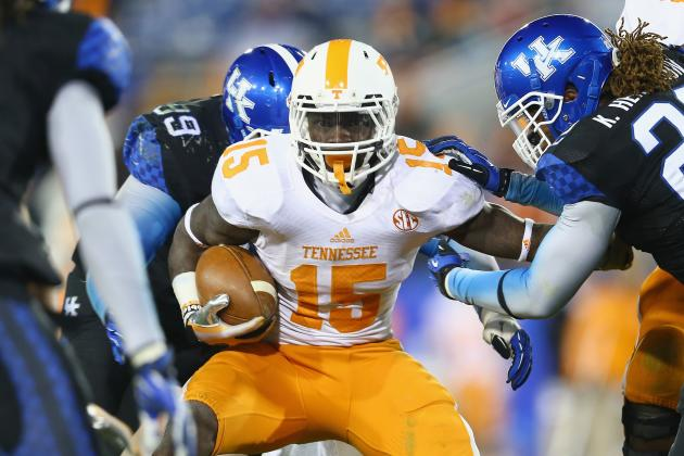 Tennessee Football: Spring Practice Position Battle Tracker