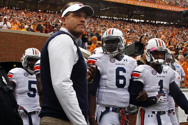 Auburn Football: Spring Practice Position Battle Tracker