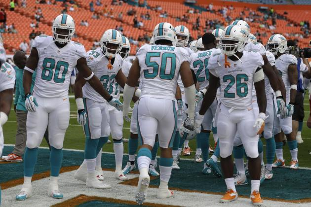 Projecting Miami Dolphins Depth Chart After Peak of Free Agency