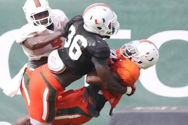 Miami Football: Spring Practice Position Battle Tracker