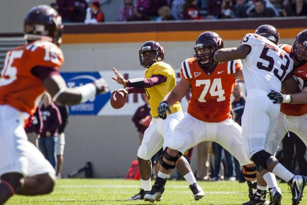 Virginia Tech Football: Spring Practice Position Battle Tracker