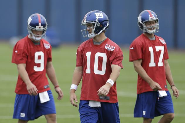 Projecting New York Giants' Depth Chart After Peak of Free Agency