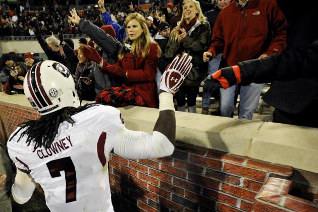 Best, Worst Case 2014 Draft Scenarios for Jadeveon Clowney