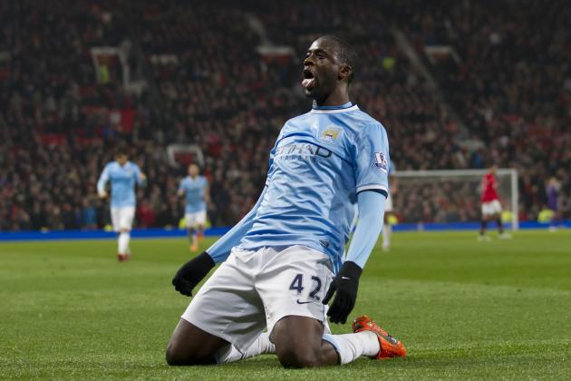 Ranking Manchester City's Top 5 Goals This Season