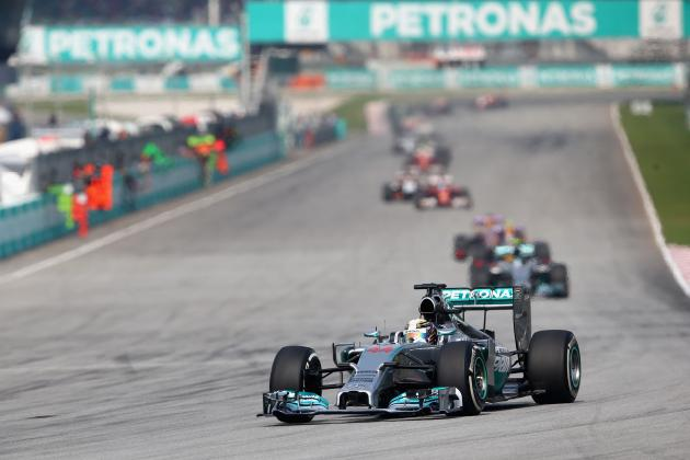 Power Ranking the F1 Teams After 2014 Malaysian Grand Prix