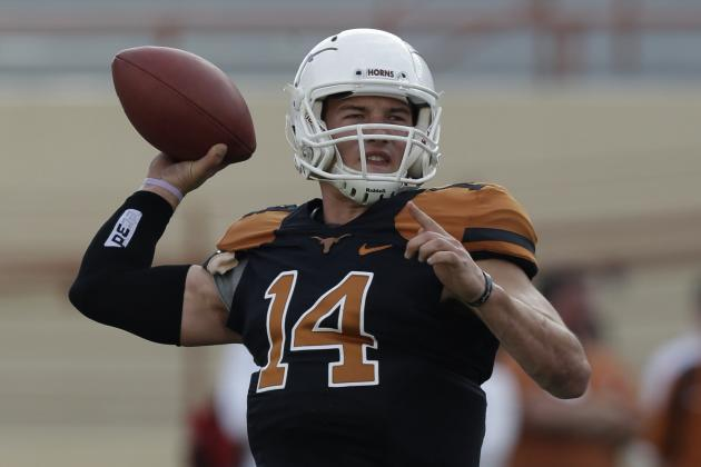 Texas Football: Spring Practice Position Battle Tracker
