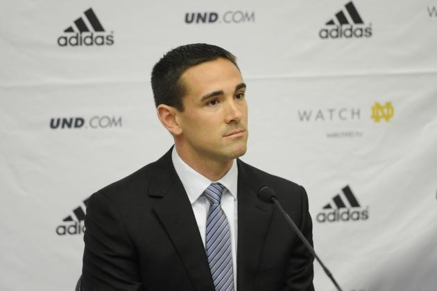 Notre Dame Football: Matt LaFleur Breaks Down QB Position, Golson, Zaire
