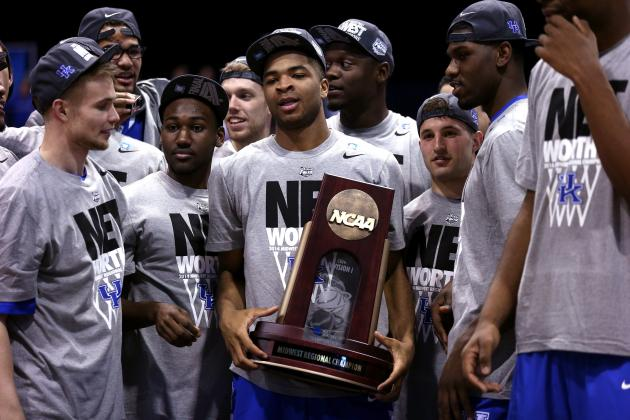 Kentucky Basketball: Ranking the Best Moments of Wildcats' 2014 Final Four Run