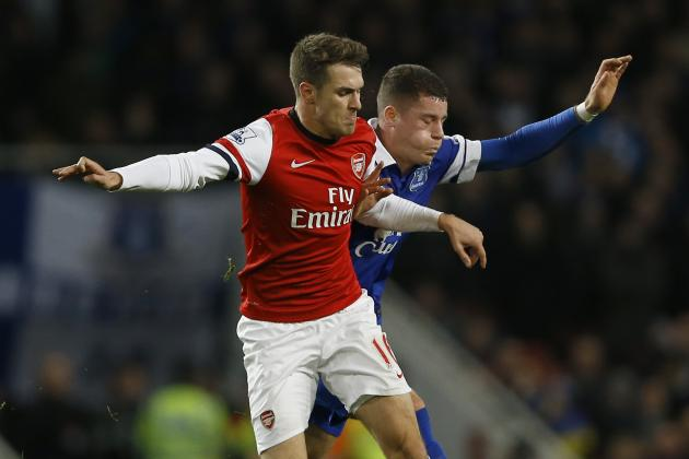 Aaron Ramsey, Ross Barkley and the Best Young Premier League Midfielders